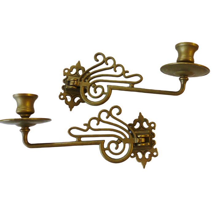 Sconces - Large Scrolled Sconces
